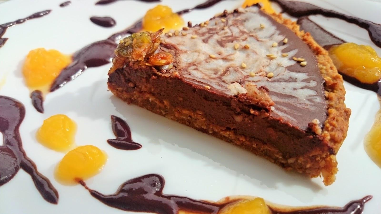 Tarta de Chocolate Vegana y Sin Gluten