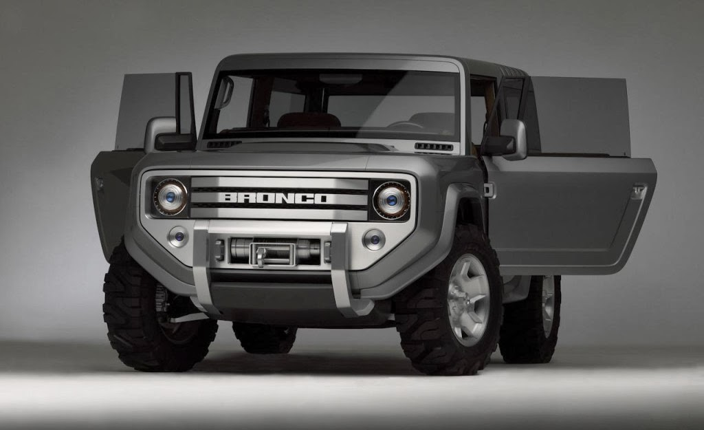 2015 Ford Bronco Concept