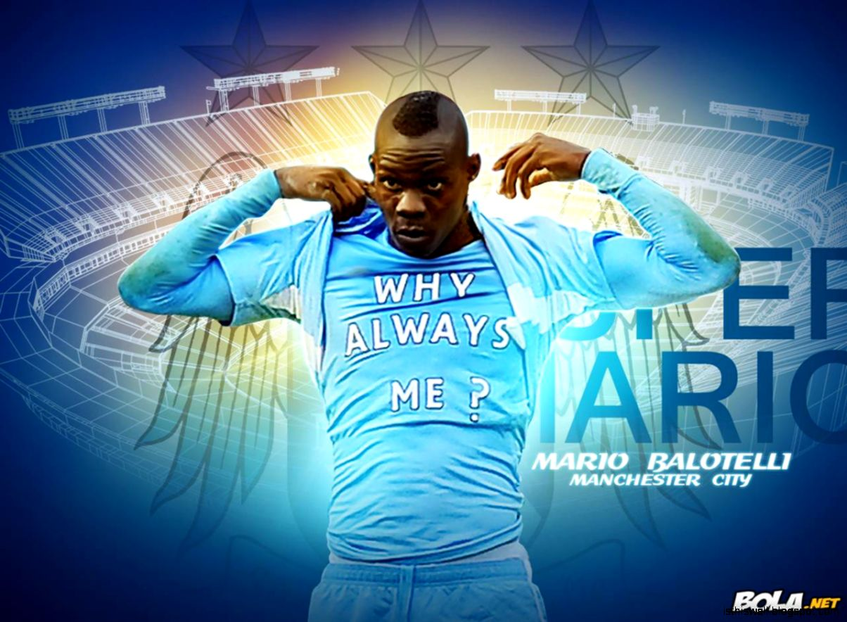 Mario Balotelli Manchester City images
