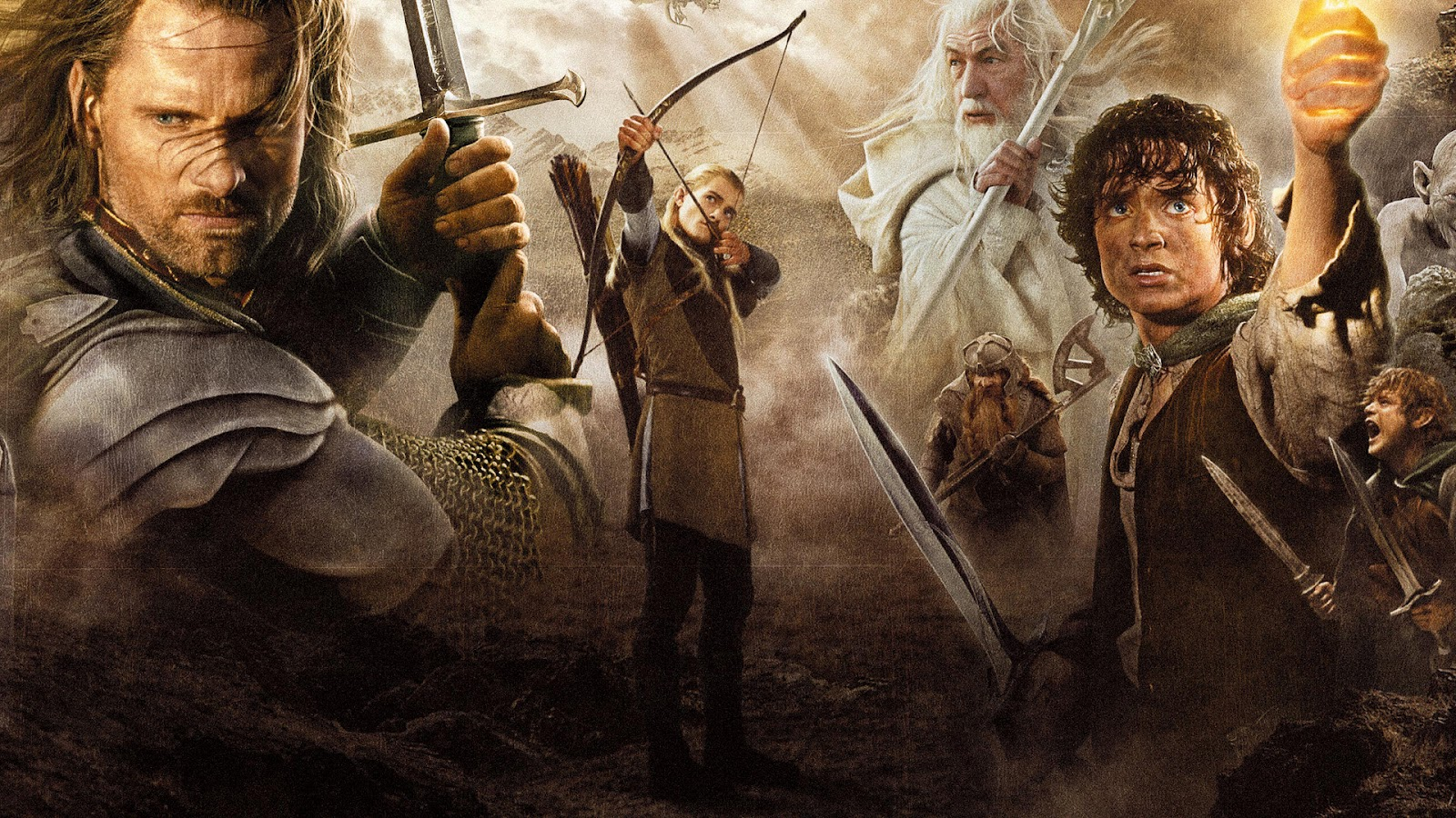 a comparison of the arthurian legends and jrr tolkiens the fellowship of the ring Film, the lord of the rings: the fellowship of the ring in 2001, and the these and more to establish generic differences drawing on western folk- and fairy- tale traditions, norse and celtic myth, arthurian legend, and medieval romances tolkien himself was a notable philologist at oxford university and an authority on.