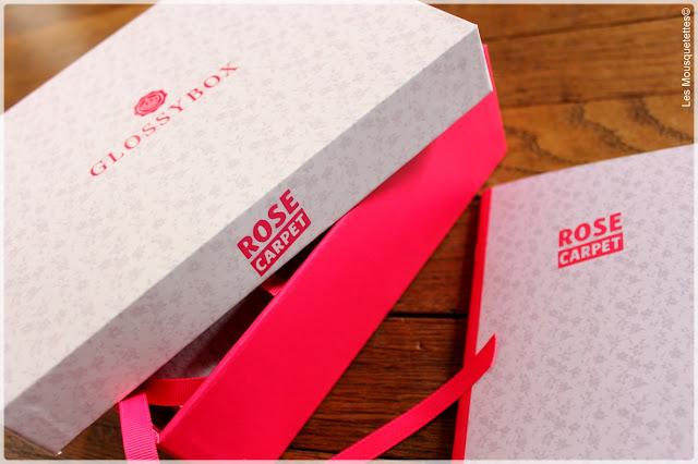 Glossybox Rose Carpet de novembre 2015 - Les Mousquetettes©