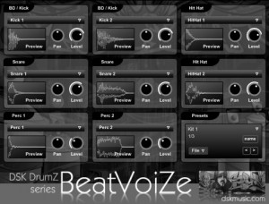DSK DrumZ BeatVoiZe - VST de Beat Box