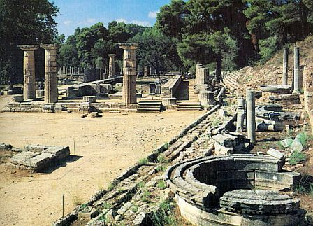 Katakolon And Olympia The Olympic Festival In Ancient Olympia