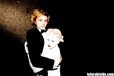 Evan Peters by Tyler Shields