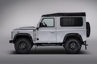 Land Rover Defender 90 Station Wagon '2,000,000' (2015) Side