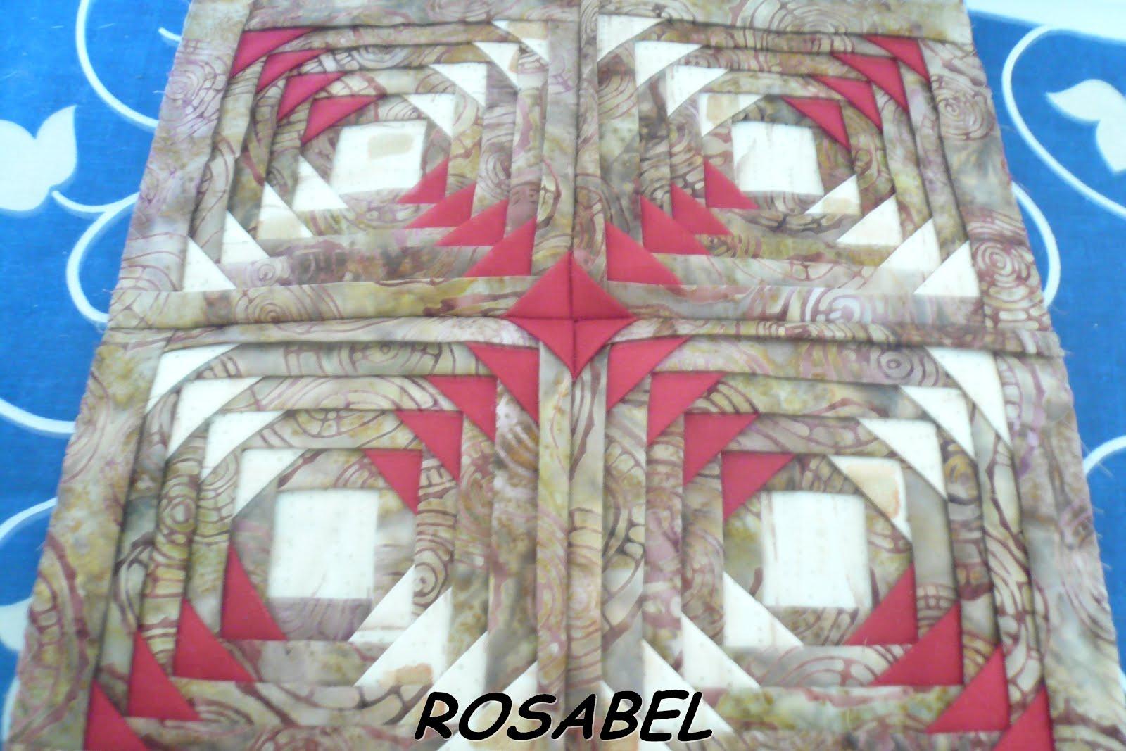 EL PATCHWORK DE ROSABEL: 7º BLOQUE ALMAZUELAS