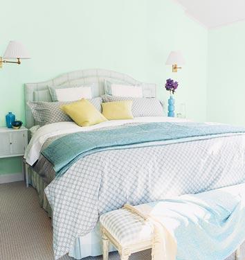 Hannagracedesigns seafoam green for Sea green bedroom designs