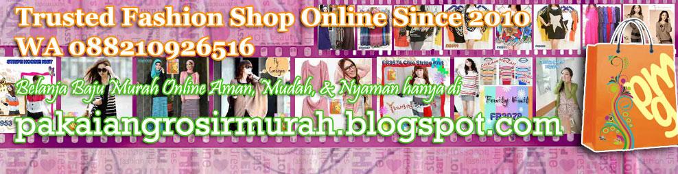 Pakaian Grosir Murah | Grosir Eceran Baju Jilbab Termurah