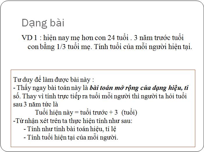 Các bài tập về tìm hai hay nhiều số khi biết tổng, hiệu và tỉ số - toán lớp 5(17)