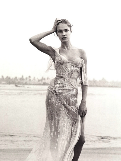 Natalia Vodianova 2003 Fashion Photography by Peter Lindbergh