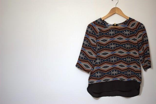 Camisa Etnica Pimkie