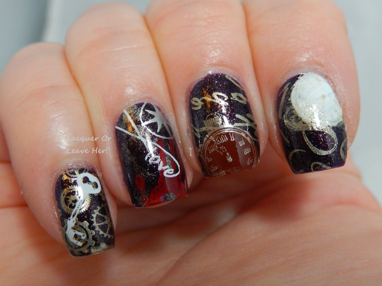 The Time Traveler's Wife manicure