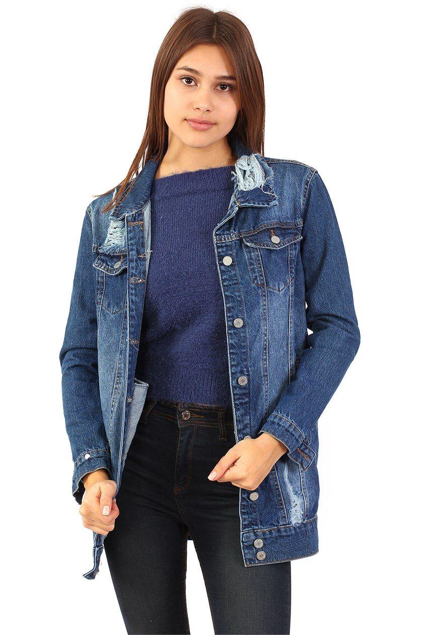 Kadın Kot Ceket Modelleri 2018 Kot Ceket Modelleri
