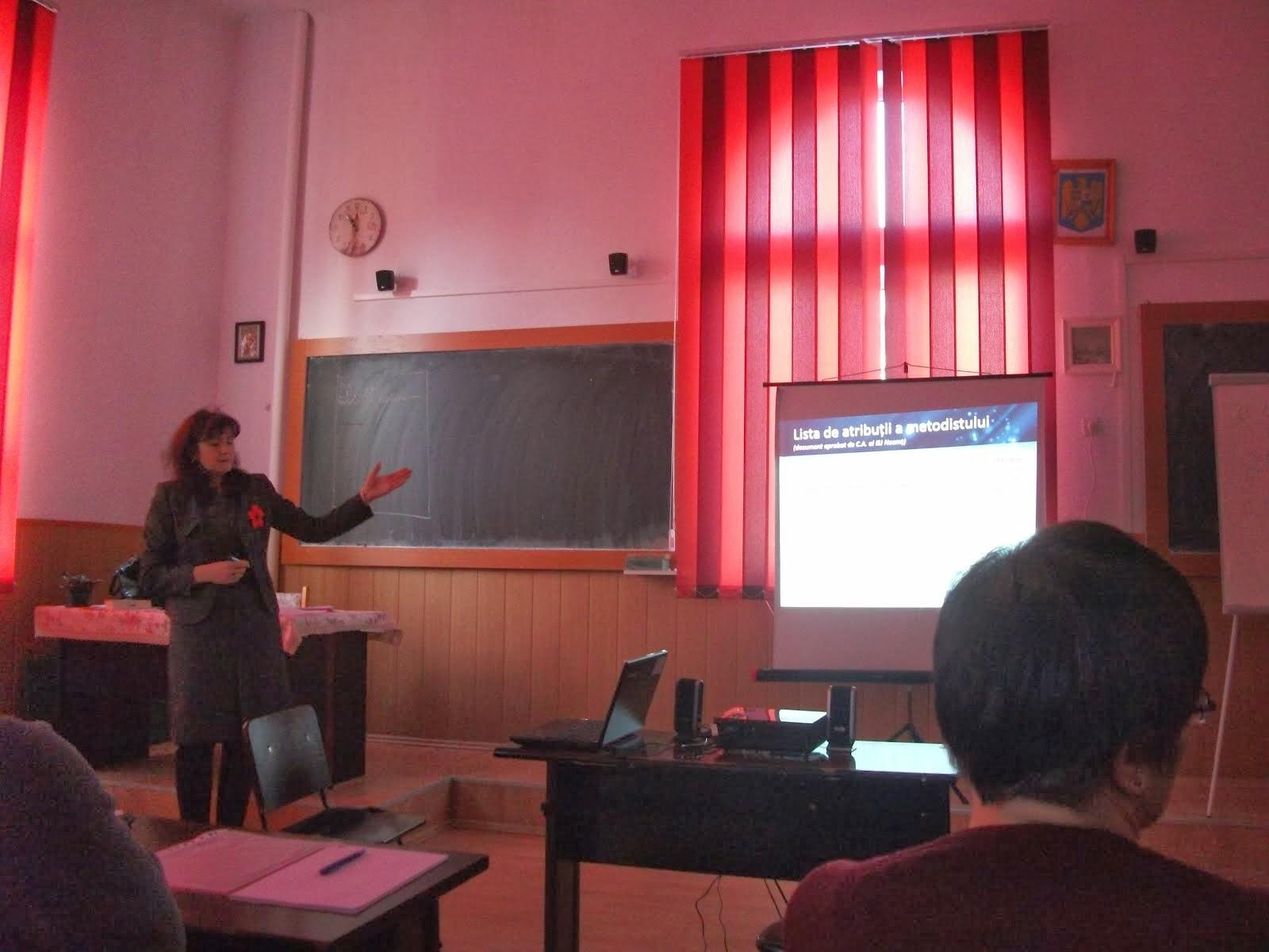 Aspecte de la cursurile de formare a profesorilor-metodişti, 4-6.02.2014...