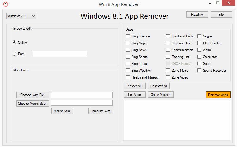 Win 8 App remover