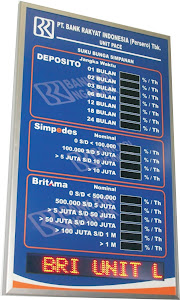 Display Digital Bank BRI