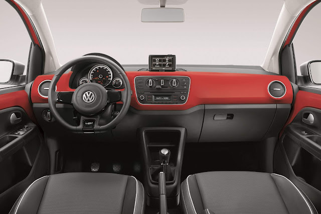 Volkswagen up! TSI Turbo - Red-up!  - interior