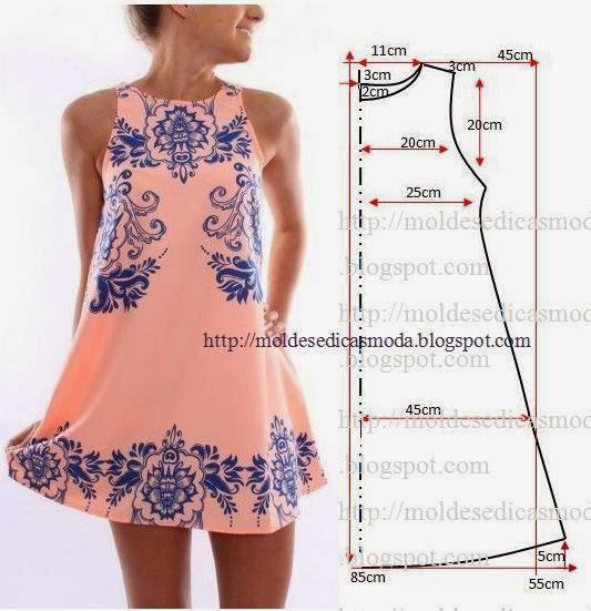 Фото и выкройки модных платьев