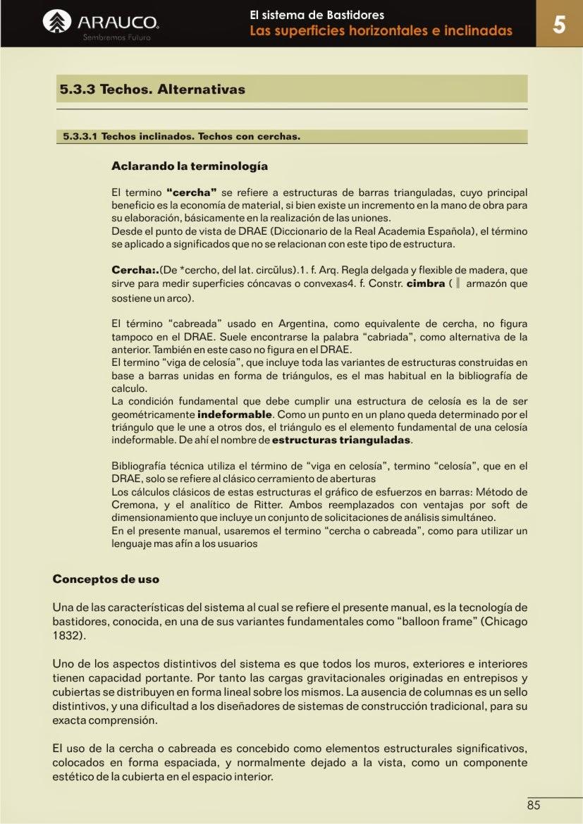 Manual de Construcción en Madera. EL SISTEMA DE BASTIDORES