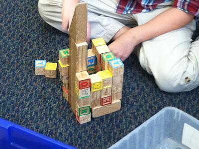 Alphabet block building (Brick by Brick)