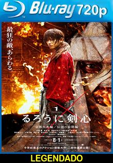 Assistir Samurai X O Inferno de Kyoto Legendado 2014