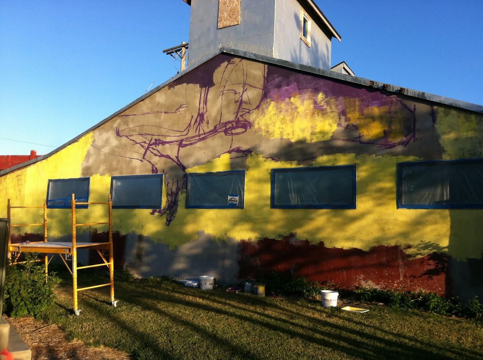 Jose Ray: Mural in Hutchinson, KS