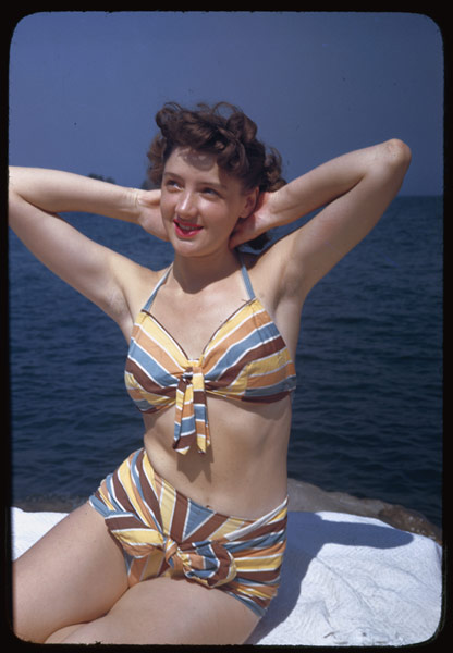 Vintage Everyday Bathing Suits In The 1940s