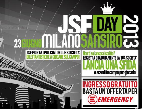Cosa fare a milano sabato 22 giugno e domenica 23 giugno: JSF School Cup torneo di calcio a 5 Emergency