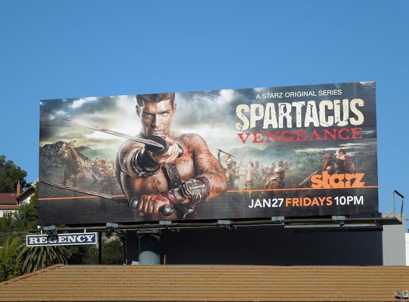 Spartacus Vengeance billboard