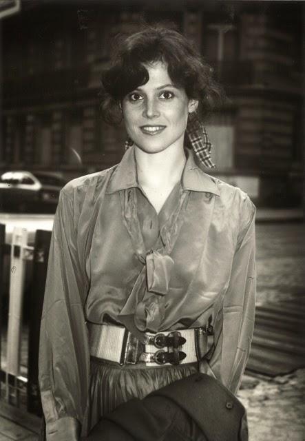 Seagourney Weaver à Paris, années 70