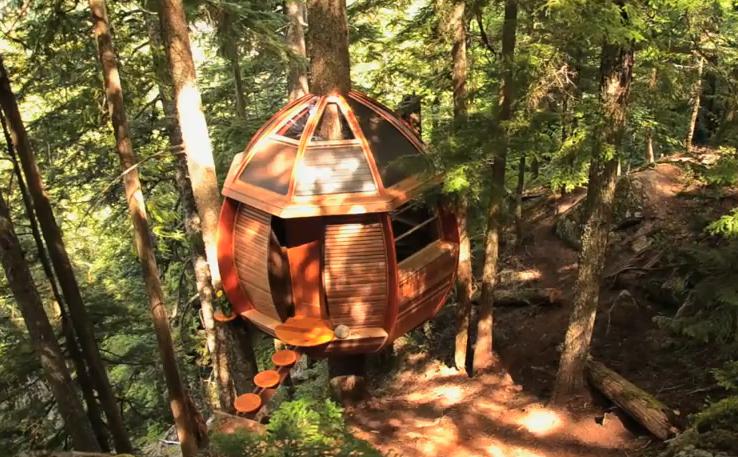 La casa sull 39 albero idea arredo for Kit per costruire casa sull albero