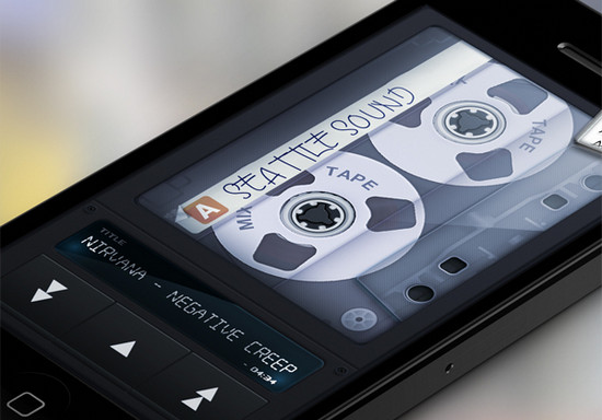 MixTape cassette player iPhone app