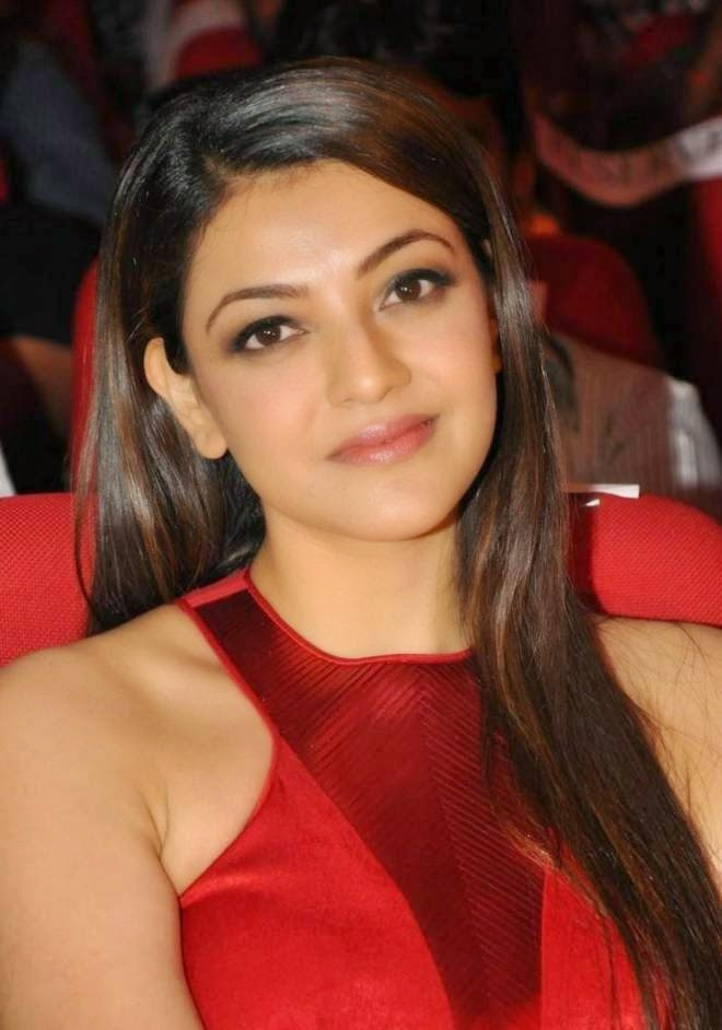 Kajal Aggarwal Latest Red Gown Dresses Photos