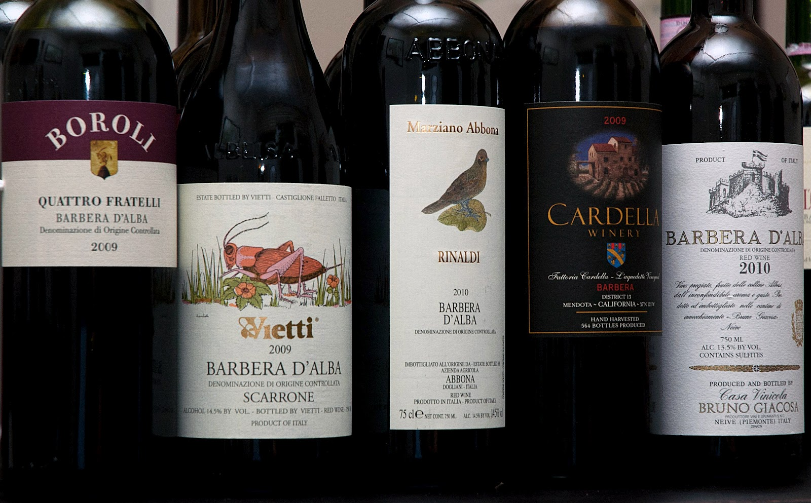 The V.I.P. Table: Barbera: Not Just A Pretty Name