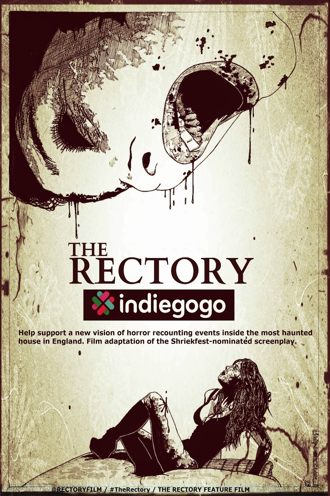 Rectory indiegogo poster