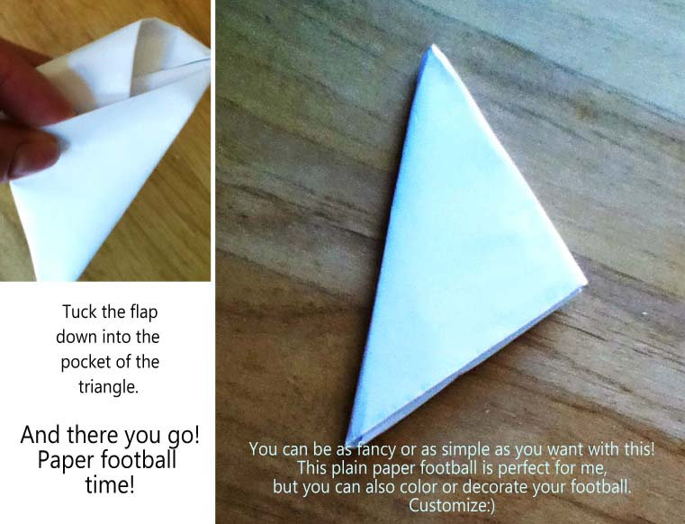 how to play paper football