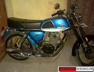 Modifikasi Honda CB 100