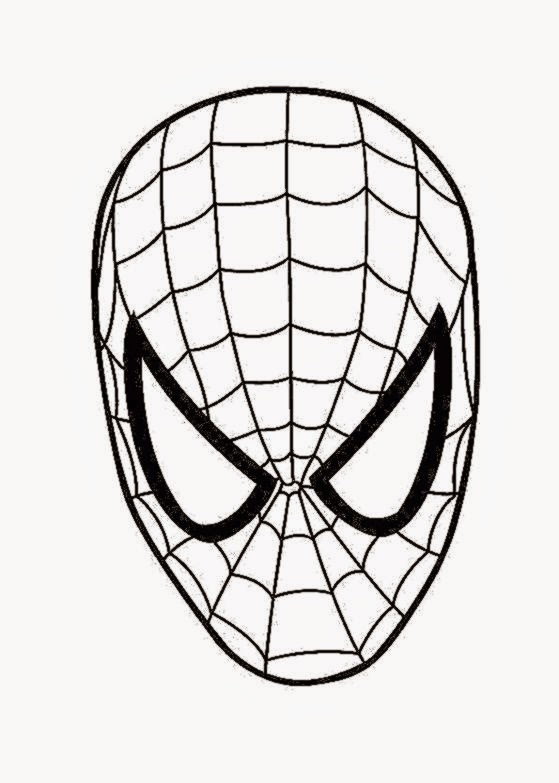 8 Spiderman Coloring Pages Easy For Kids