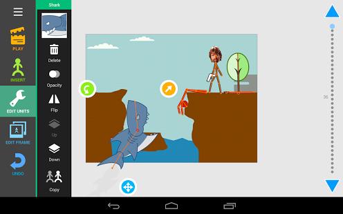تطبيق لعمل الرسوم المتحركة من الهاتف