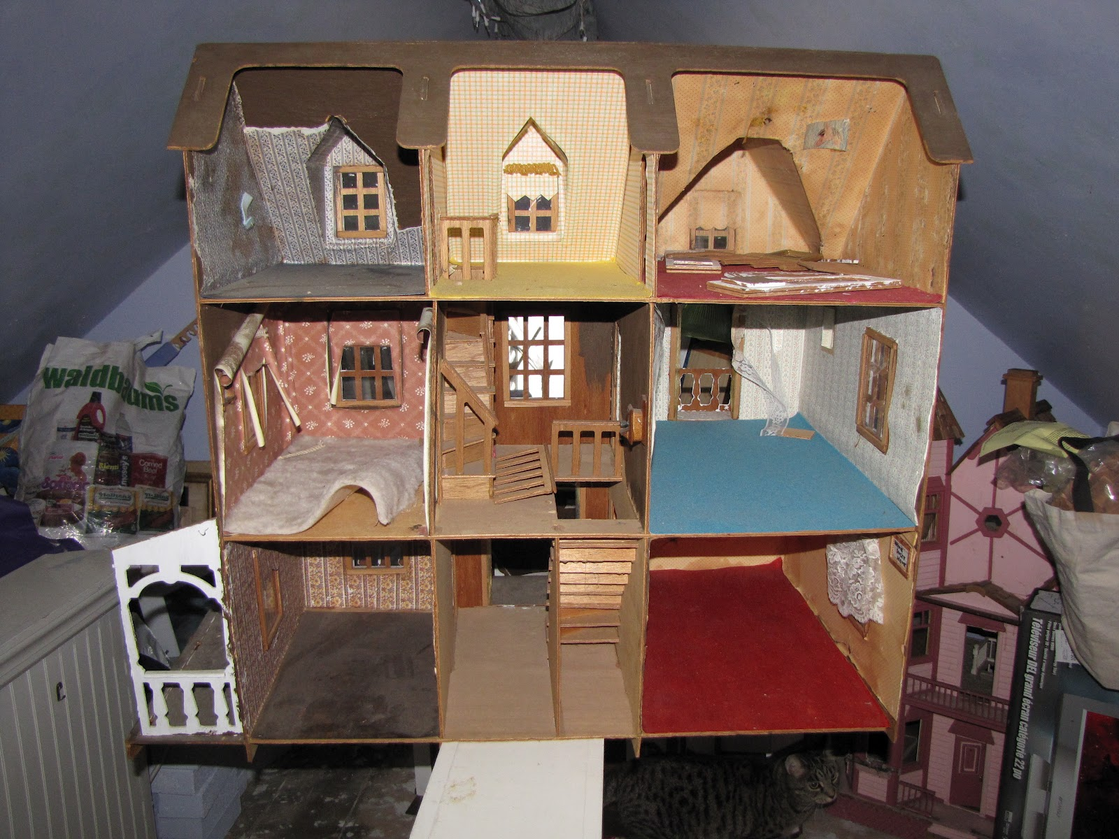 The Dollhouse Whisperer House 16 The Artply Franklin House