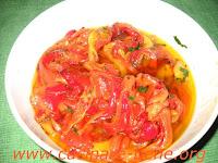 Peperoni arrostiti cucinare bene ricette - Cucinare i peperoni ...
