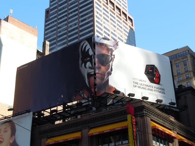 Motoactv Kiss billboard