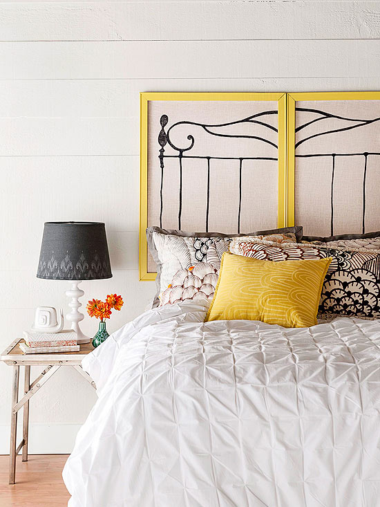 Take 5: 5 Easy DIY Headboards - The Cottage Market