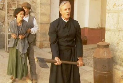 Don Celso vuole uccidere Gonzalo Il segreto