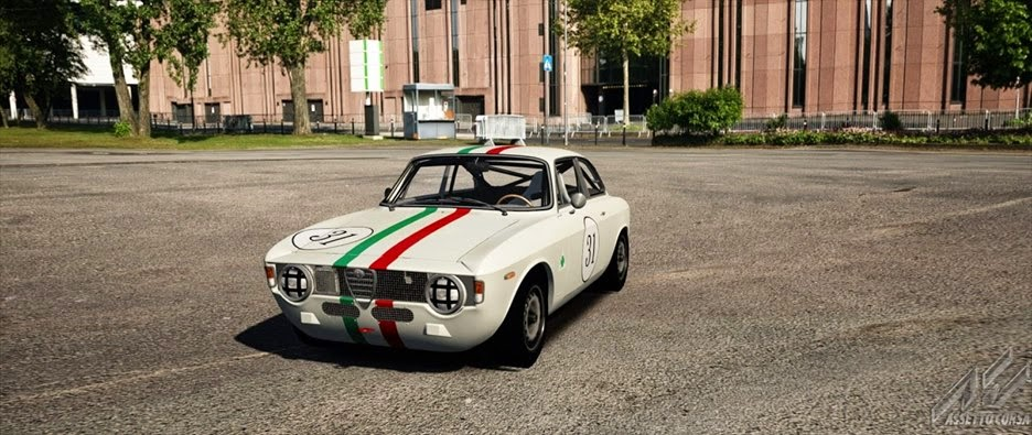 the sim review assetto corsa mods 1965 alfa romeo giulia. Black Bedroom Furniture Sets. Home Design Ideas