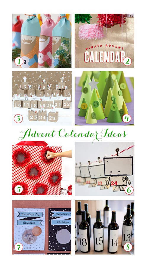 Calendar Party Ideas : Paper and party love great advent calendar ideas