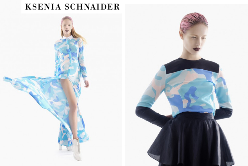Top emerging Designers - Ksenia Schnaider Press