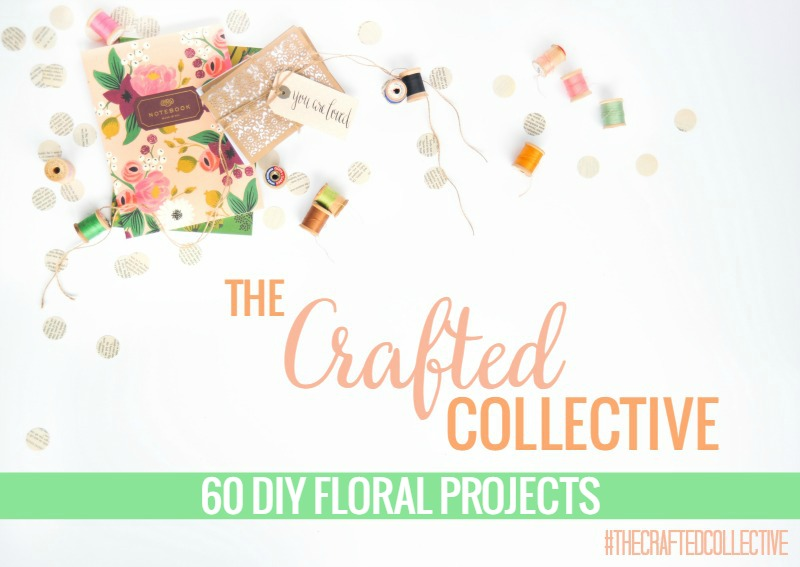 The Crafted Collective: 60 DIY Floral Projects pitterandglink.com