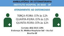 AMBULATÓRIOS DE ATENDIMENTO AO OSTOMIZADO NO DF E  ENTORNO