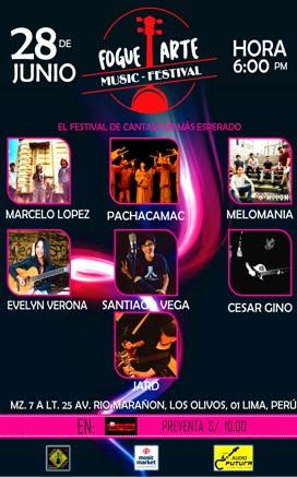 FOGUEARTE -FESTIVAL DE MUSICA PROPIA